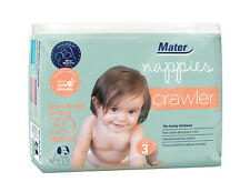 Mater Nappies Crawler size 3, 6-11kg, 30 pack
