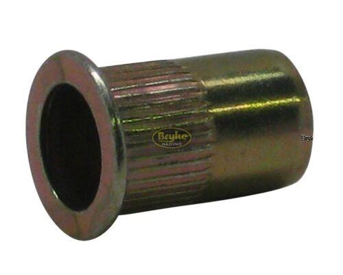 Threaded Insert Rivet Nuts 5//16-18 Fasteners 20 pack Fastener Steel Blind Racing