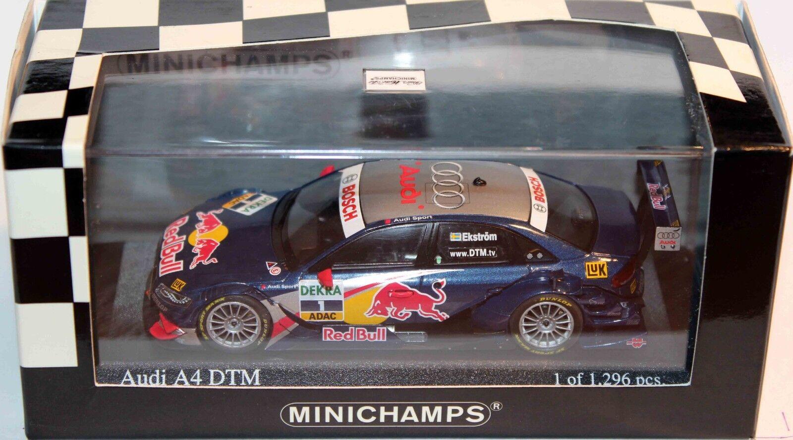 MINICHAMPS 1 43 AUDI A4 DTM 2008  AUDI SPORT TEAM ABT MATTIAS EKSTROM 400 081801