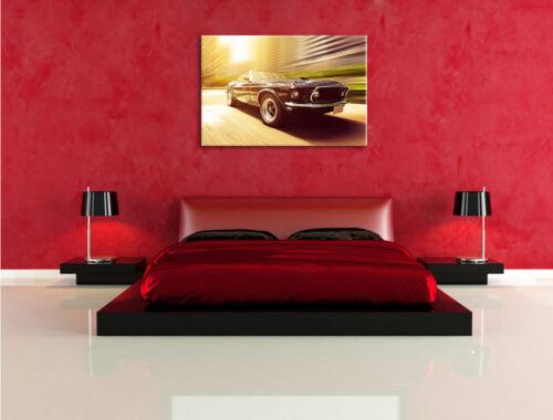 Ford Mustang Leinwandbild Wanddeko Kunstdruck