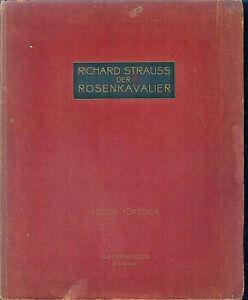 Richard-Strauss-Der-Rosenkavalier-Klavierauszug-mit-Text-gebunden