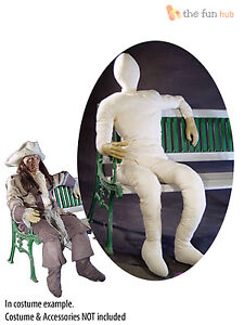Poseable-Wired-Lifesize-Stuffed-Dummy-Figure-Halloween-Party-Prop-Decoration