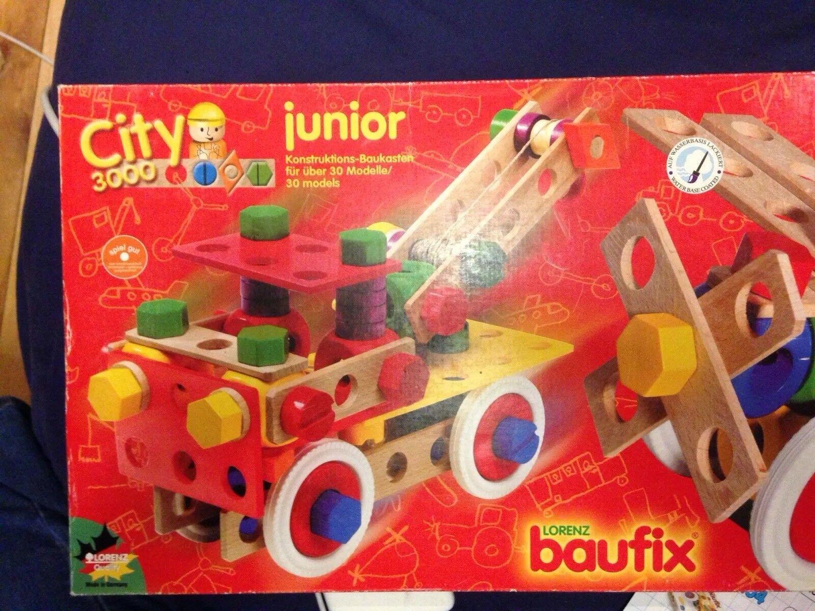 Toy construction set  Lorenz baufix City 3000 junior no. 071030