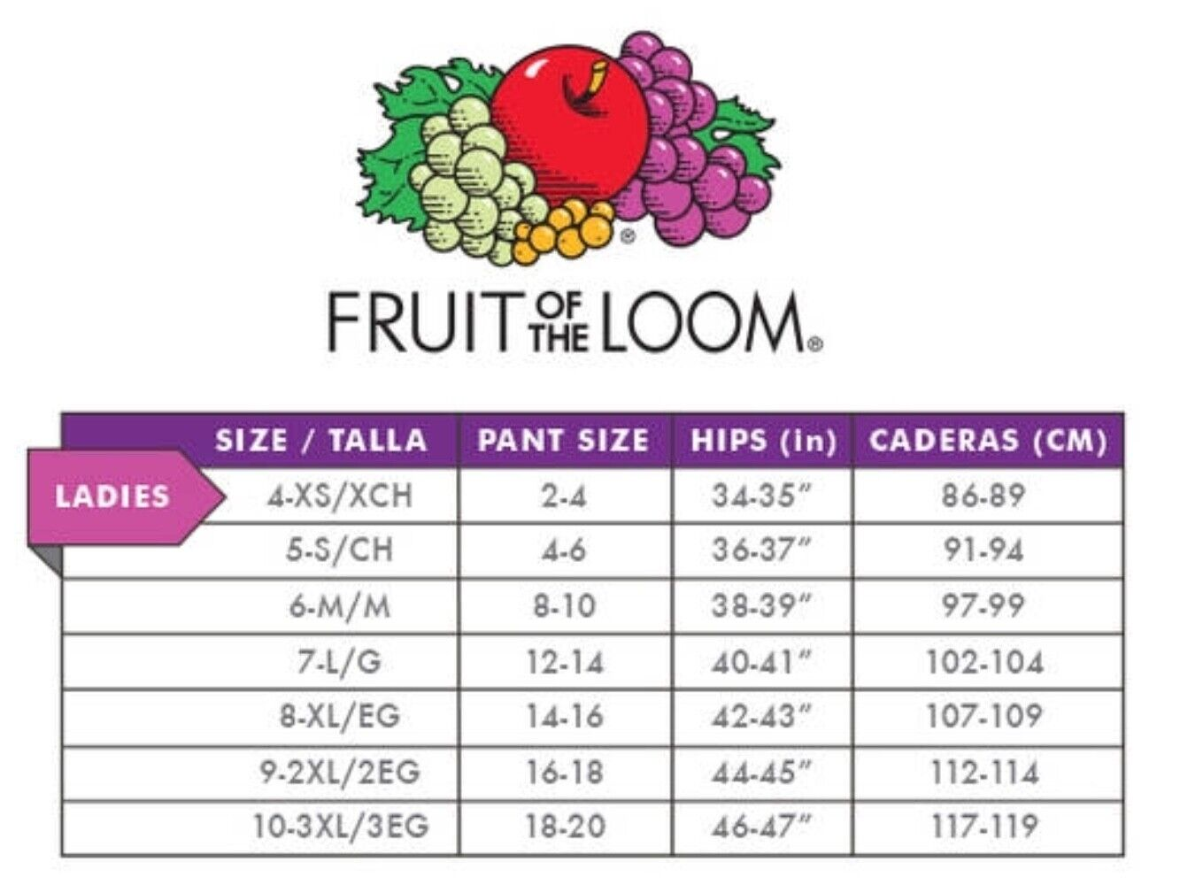 Fruit Of The Loom Womens Core Cotton 6-Pack Assorted Shortie