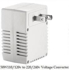 Smart US TRAVEL VOLTAGE CONVERTER 120V/110V TO 240V/220V Up to 50 WATT 50HZ