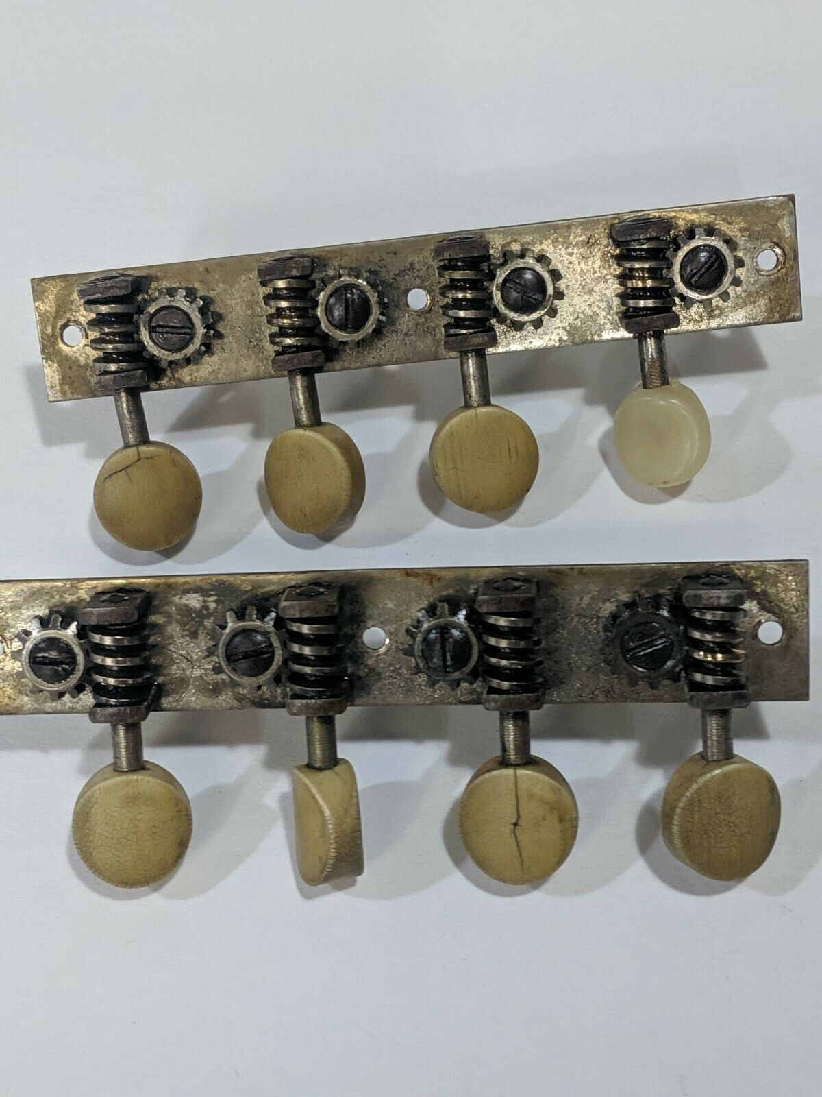 Vintage  Gibson A Mandolin Waverly Tuners circa 1920s Pegs Set Project   Repair
