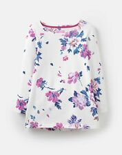 Joules 209052 3/4 Length Sleeve Jersey Printed Top - CREAM FLORAL