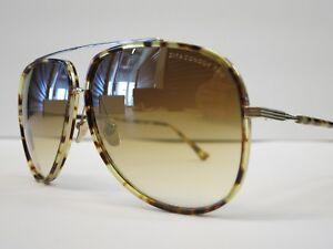 5be3a35d9ec DITA CONDOR TWO Tokyo Tortoise 12K Gold Brown Mirror Glasses Eyewear ...