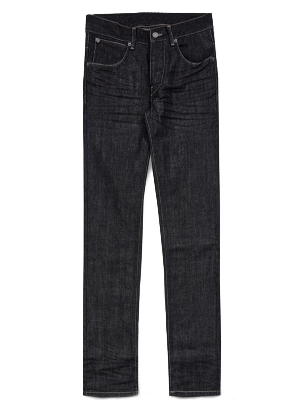 French Connection Dark Blau IND02 James Slim Fit Jeans  | Die Farbe ist sehr auffällig