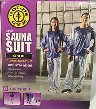 "Golds Gym Adult Sauna Suit XL/XXL Fits Waist Sizes 42""- 50"" $17.87 FREE SHIPPING"