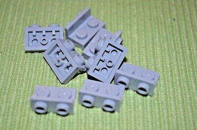 6 1x2 Blue Green 90 Degree Direcition Change Brick Bricks ~ Lego ~ NEW