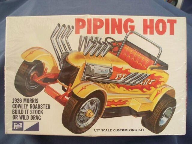 Model Car Kit Vintage MPC PIPING HOT 1926 MORRIS COWLEY ROADSTER NIB Sealed NOS