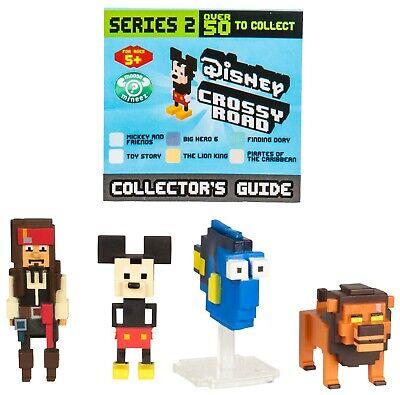 Disney Crossy Roads Mini Figure Minifigure 4 Pack choose your pack