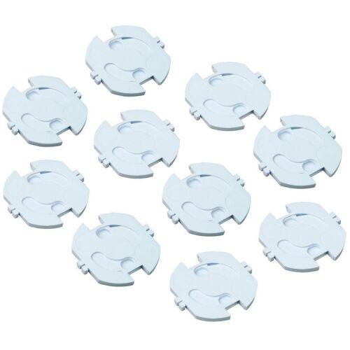 H+H KS 10 Kinder-Sicherung für Steckdosen 10er-Pack selbstklebend Schutz