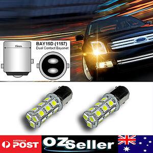 2pcs-BAY15D-18SMD-5050-LED-1157-12V-Dual-Car-Brake-Stop-Tail-White-Light-Bulbs