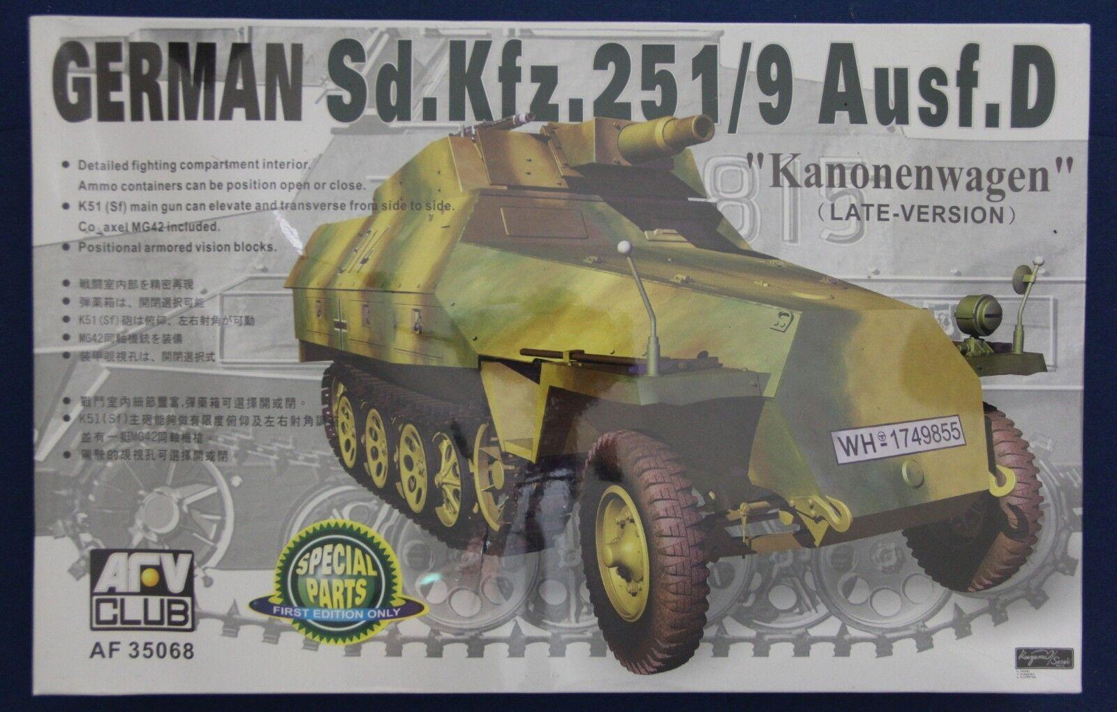 afv club 35068 1 1 35068  35 sdkfz.2519 ausf. d (in versione) kanonenwagen d8e4c8