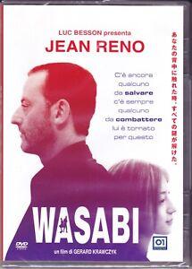 DVD-Wasabi-Por-Luc-Besson-Con-Jean-Reno-Nuevo-2001