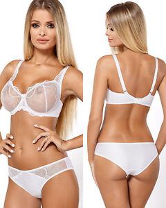 Ensemble-sexy-lingerie-blanc-femme-soutien-gorge-soft-amp-culotte-Paripari-athina