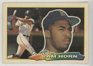 1988-Topps-Big-Sam-Horn-252-Rookie