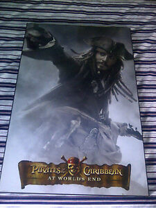 24x36-Pirates-of-the-Caribbean-3-Standard-Sized-Movie-Poster-FRAMED