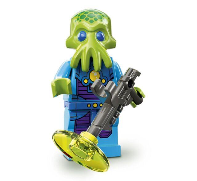 YRTS Lego Serie 13 Soldado Extraterrestre Figura 07 ¡New! Minifigures Minifigura