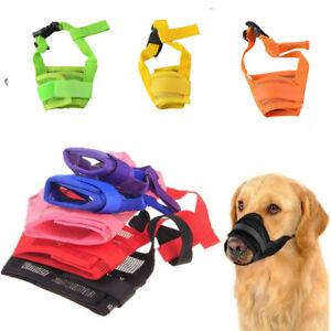 Pet-Dog-Adjustable-Anti-Bite-Mesh-Soft-Mouth-Muzzles-Stop-Chew-Train-Mask