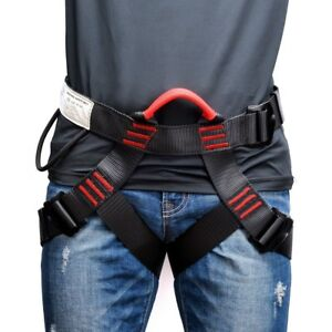 Climbing Harnesses HaoFst Professional Safety Rock Tree Climbing Rappelling Harness Seat Sitting Bust Belt