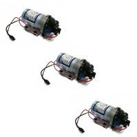 (3)new Shurflo 12v Electric Water Transfer Pumps 1.8 Gpm 60 Psi W/ Demand Switch