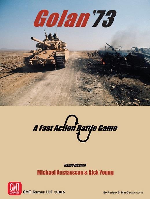 GMT Fast Action Battle Golan '73 Box SW