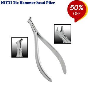 Kieferorthopaedie-Labor-Zangen-NiTi-Tie-back-Wire-Hammerhead