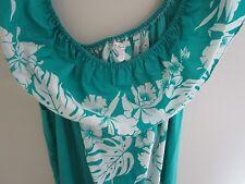 Vtg 70's-Women's Hawaiian Dress Helena's Tropical~Made in Hawaii size Large