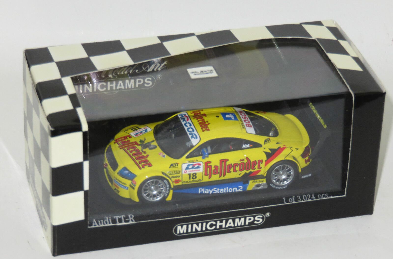 1 43 Hasseroder  Audi TT-R  Team Abt Sportsline  DTM 2001  C.Abt