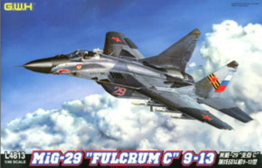 GreatWall 1 48 L4813 Russian Mig-29  Fulcrum C  9-13 Top quality