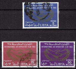 Libyen 175-77, O, Jahr der Internationalen Zusammenarbeit 1965