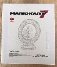 Mario Kart Trophy 7 - Leaf M - Brand New in Box - Club Nintendo