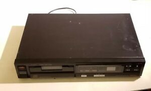 Vintage-FISHER-CD-Player-Model-AD-823-w-Graphic-Display-Tested-amp-Working