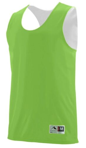 WICKING MEN/'S TWO LAYER ATHLETIC BASKETBALL TOP REVERSIBLE S-3XL TANK