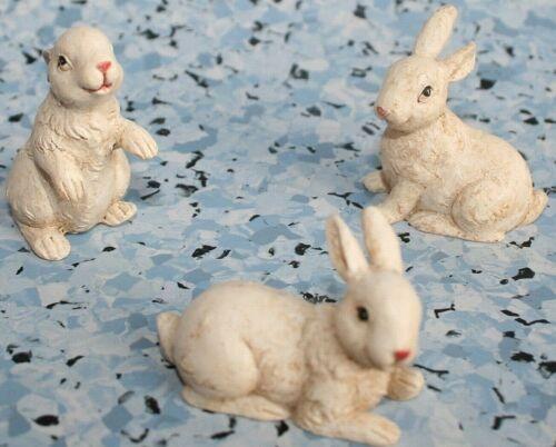 Krippenzubehör Tierfiguren 3erSet verschiedene Modelle bis 4 cm h