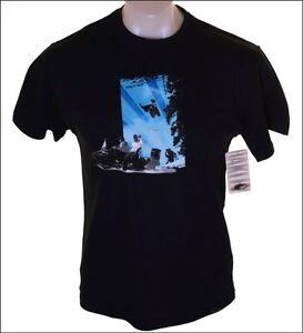 Autentico-Con-Etiqueta-Hombre-Oakley-Ettla-Ss-Camiseta-XGrande-Negro-Esqui