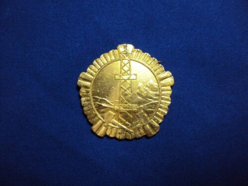 ALBANIA ORDER MINER GEOLOGY 1 CLASS ALBANIAN MEDALS DURING COMUNISM 1945-1990
