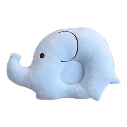 Neugeborenes Baby Elefant Babykopfkissen gegen Verformung Schlaf Lagerungskissen