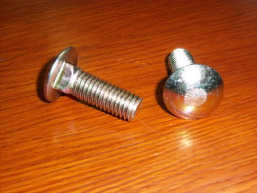 "Button Head 1//2""-13,1-1//2/"" long /""Carriage/"" Bolt 100 ea MS35751-125 Square Neck"