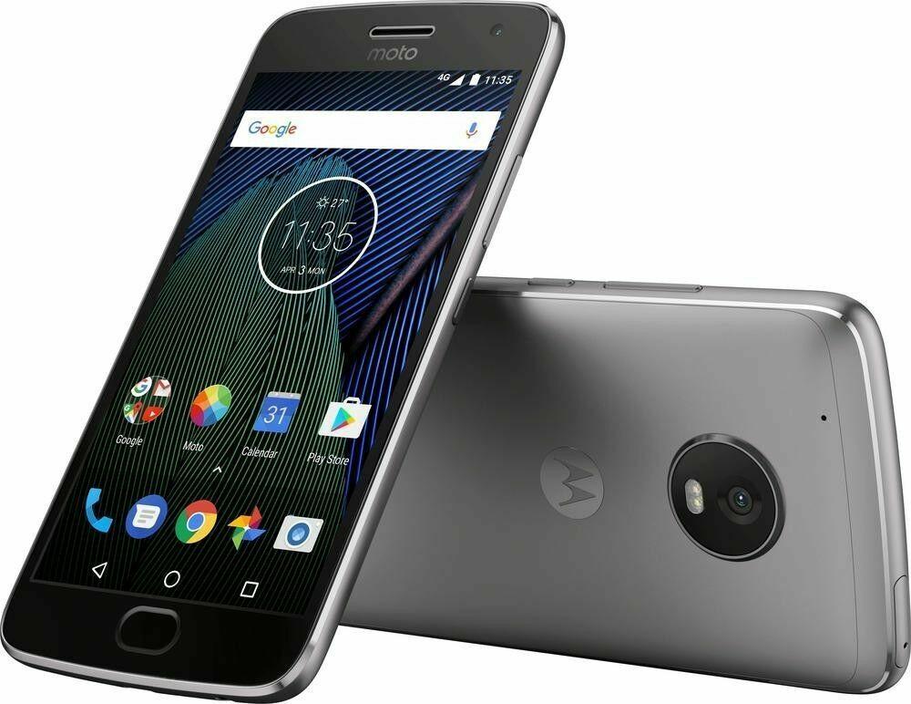 Moto G5+ Plus (32GB) 4G LTE Android 7.0 Octa-Core DUAL SIM GSM Unlocked XT1685