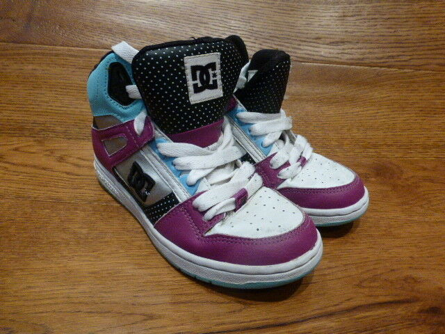 DC Trainers Shoes Rebound Hi Top Trainers DC Size 93ddad
