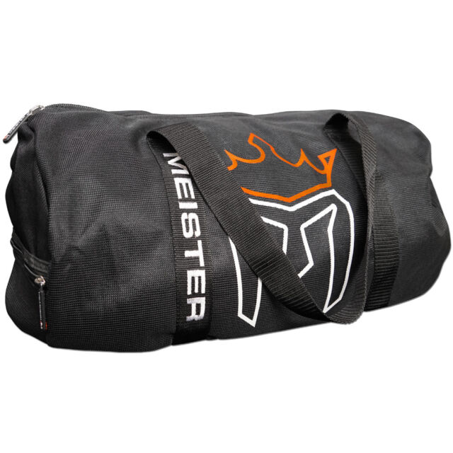 Meister Classic Chain Mesh Duffel Gym Bag Mma Sports Crossfit Equipment Gear