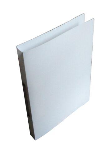 A4 2-Ring-Mechanik aus PP weiss 30mm Farbe Rücken 4x Ringbuch