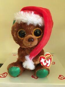 88f67d6e4a6 Ty Beanie Boo NICHOLAS the Christmas Bear 6