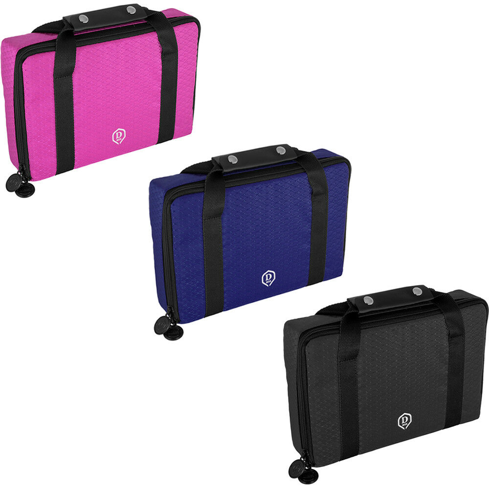 One80 - Master D Box - Large Dart Case - Strong and Solid - 3 Colours Available