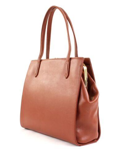 Cognac Nina Main À Bag M Hand Sac Lancaster SqtxZw04