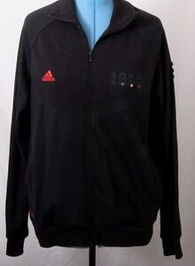 Details about Adidas AC Milan 1899 RN# 88387 CA# 40312 Black Warm Up Track Jacket Men's XL